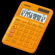 Bordsräknare Casio MS-20UC orange